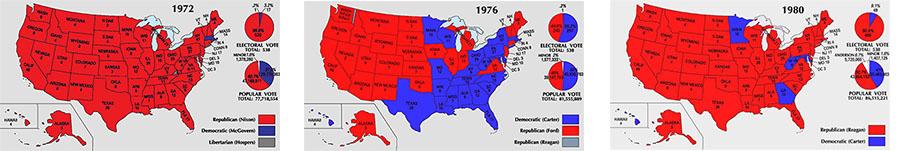 1972-1980 maps