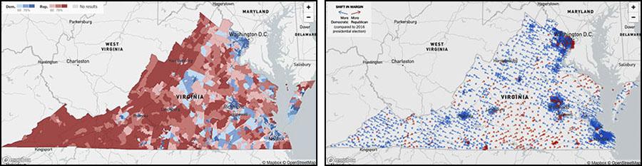 VA election maps
