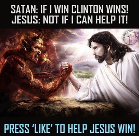 Jesus v. Satan