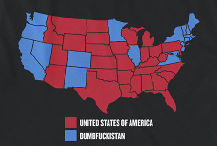 USA vs. Dumbfuckistan