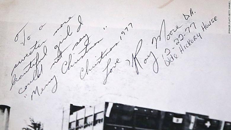 Roy Moore signature