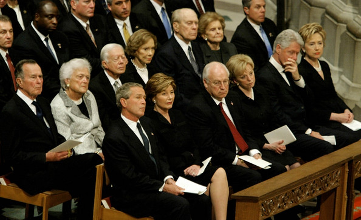 The Gipper's funeral