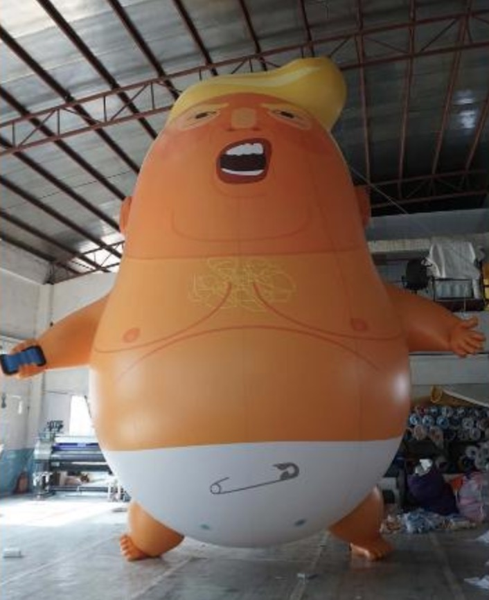 Baby Trump balloon
