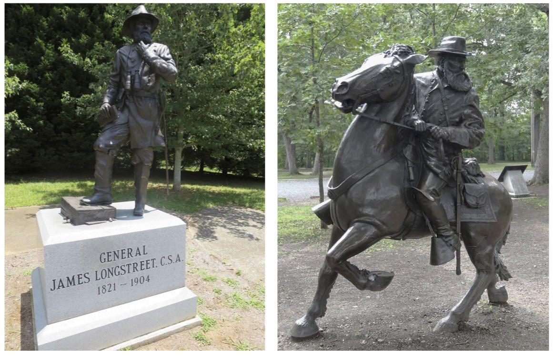 Longstreet statues